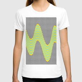 Dripping stripes T-shirt