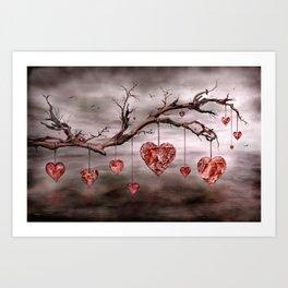 The new love tree Art Print