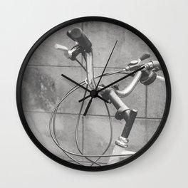 Commuter Bike Wall Clock