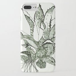 Agave, Kiss of Mezcal the Spirit of Mexico iPhone Case