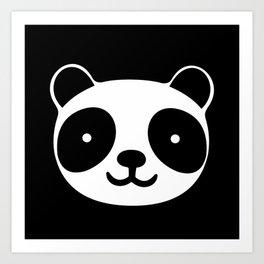 Racing Panda Art Print