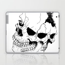Skull #6 (Fragmented and Conjoined) Laptop & iPad Skin