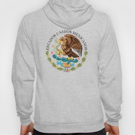 Mexican seal on Adobe red Hoody