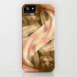 Kitty photo iPhone Case