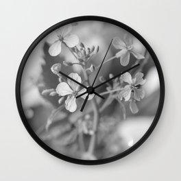gray I Wall Clock