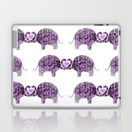 Romance And Elephants Laptop & iPad Skin