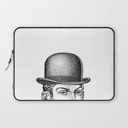 Man in a Derby Laptop Sleeve