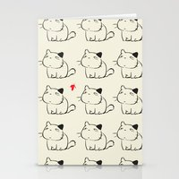 cats Stationery Cards featuring cats by ururuty