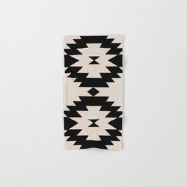 Southwestern Minimalism - Black Hand & Bath Towel