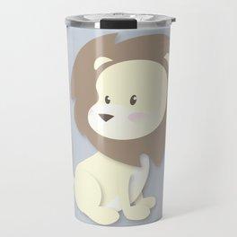 Nursery Lion Travel Mug