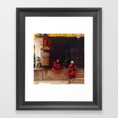 Monks Framed Art Print