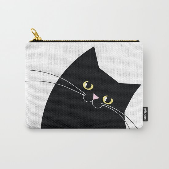 Black Cat of Lara Carry-All Pouch