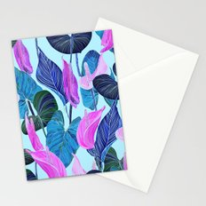 Lush Lily - cool brights Stationery Cards