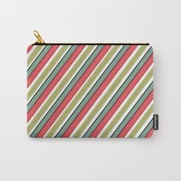 Striped pattern 10 Carry-All Pouch