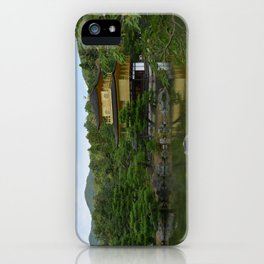 Gold Pavillion iPhone Case