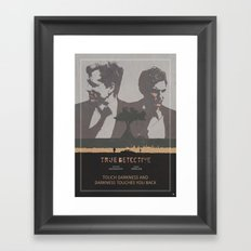 Poster True Detective 3 Framed Art Print