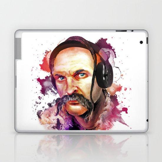 Cossack Ivan Sirko listen music Laptop & iPad Skin