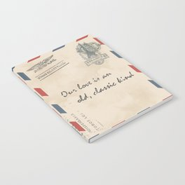 old love letter Notebook