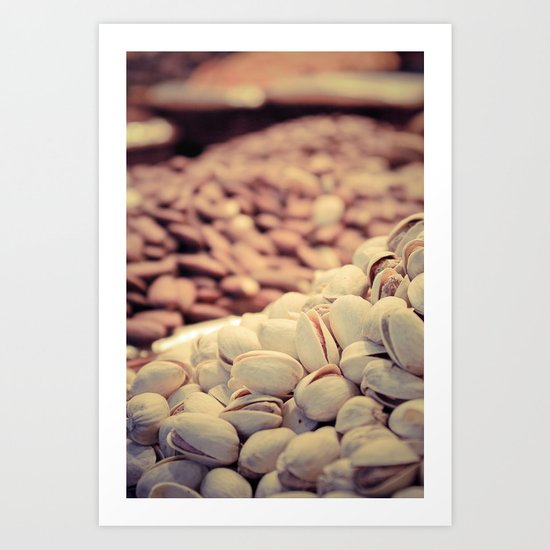 Nuts, nuts and more nuts Art Print