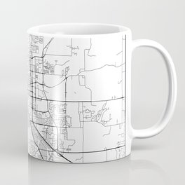 Minimal City Maps - Map Of Boulder, Colorado, United States Coffee Mug