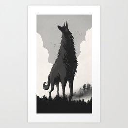 Walking Tall Art Print