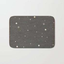 Vintage Star-Field Bath Mat