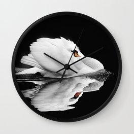swin swimming Wall Clock