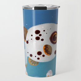 Blackspotted puffer Travel Mug
