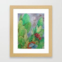 DANGEROUS BOUQUET Framed Art Print