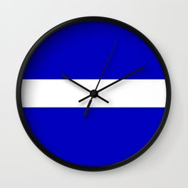 EMS: The Thin White Line Wall Clock