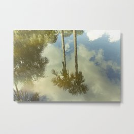 In paradise there are palmtrees, Peru Metal Print
