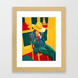 """Half-blooded"" Framed Art Print"