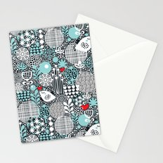 White bird. Stationery Cards