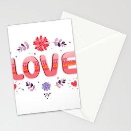Flora Love Boho Style Stationery Cards
