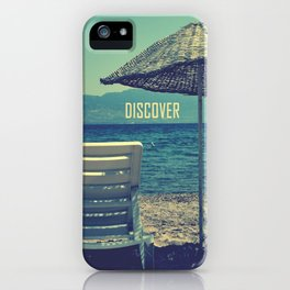 discover iPhone Case