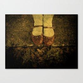 Where the Sidewalk Ends Canvas Print