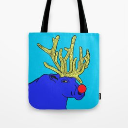 Rudolph The Red Nose Raindeer Tote Bag