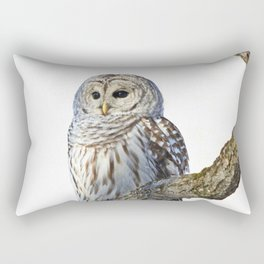 Alone but never lonely Rectangular Pillow