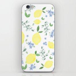 Fresh Lemon Serenade iPhone Skin