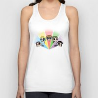 cyrilliart Tank Tops featuring Powerpuff!Direction by Cyrilliart