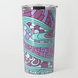 Wandering 03: color variation 3 Travel Mug