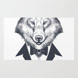 I'm A Wolfman Rug