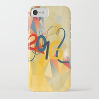new year iPhone & iPod Cases featuring new year by luiza13