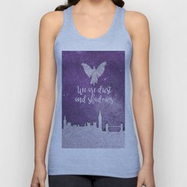 We are dust and shadows Unisex Tank Top