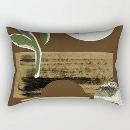 Bright Desert Moon Rectangular Pillow