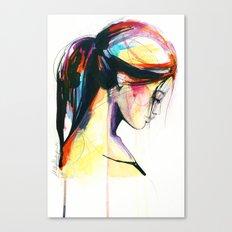 River sketch Canvas Print