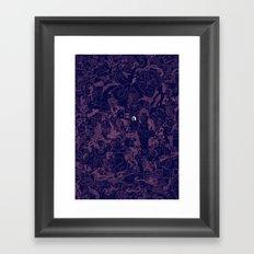 Eye. Framed Art Print