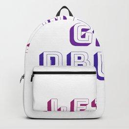 Let's Get Drunk Backpack