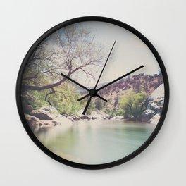 Kern River photograph Wall Clock