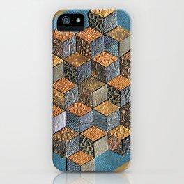 Tumbling Blocks #5 iPhone Case